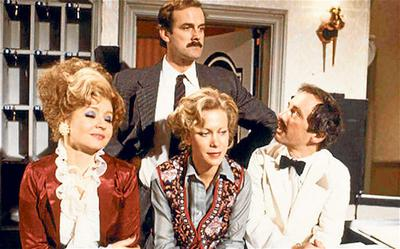 Fawlty Towers. Nothing's funnier!