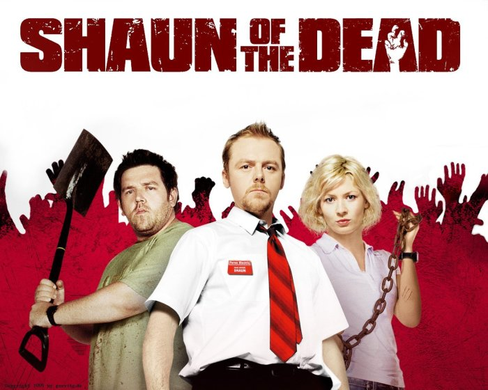 Shaun of the Dead, a personal favorite of Jaime Pond, too!