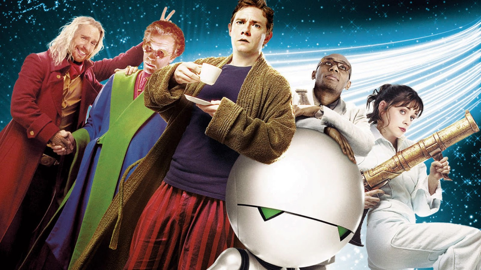 hitchhikers guide to the galaxy cast