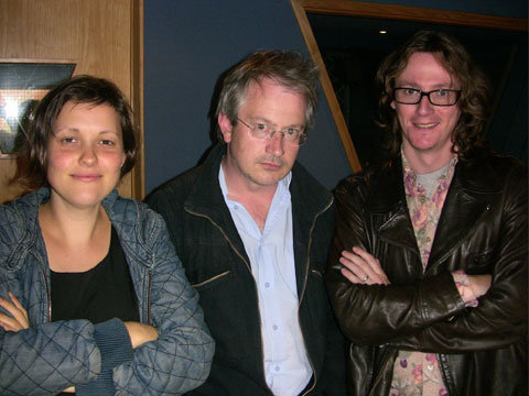 Josie and Robin with Ed Byrne at Utter Shambles