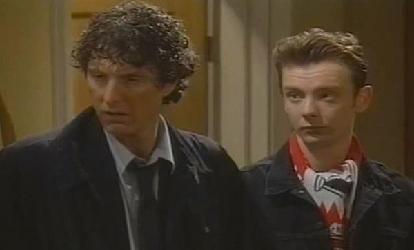 David Threlfall (left) and John Simm (right) in Men of the World