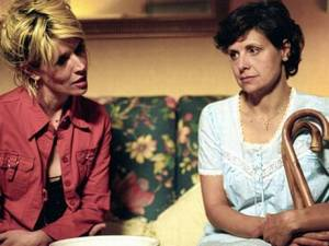 Rebecca Front with Julia Davis