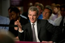 Programme Name: The Thick Of It - TX: n/a - Episode: n/a (No. 6) - Embargoed for publication until: 14/10/2012 - Picture Shows:  Malcolm Tucker (PETER CAPALDI) - (C) BBC - Photographer: Des Willie