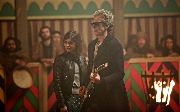 WARNING: Embargoed for publication until 00:00:01 on 15/09/2015 - Programme Name: Doctor Who   - TX: 19/09/2015 - Episode: The Magician's Apprentice (No. 1) - Picture Shows:  Clara (JENNA COLEMAN), Doctor Who (PETER CAPALDI) - (C) BBC   - Photographer: Simon Ridgway